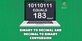 BINARY TO DECIMAL AND DECIMAL TO BINARY CONVERSION